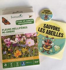 Contrepartie - Un sachet de graines pour insectes pollinisateurs